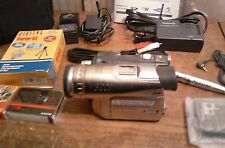 PANASONIC 3CCD PALMCORDER CAMERA MODEL PV-GS120/200 AND ACCESSORIES