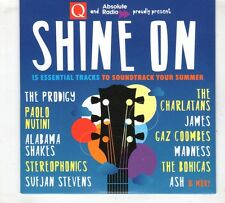 (GX572) Shine On, 15 tracks various artists - 2015 Q Magazine CD