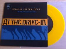 """At The Drive In - Invalid Litter Dept 7"""" Yellow Vinyl"""