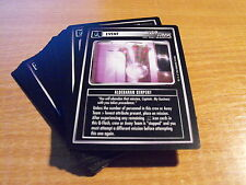 STAR TREK CCG Q CONTINUUM COMPLETE SET OF COMMON CARDS