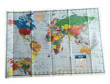 "World Map Poster Size Wall Decoration Large Map of The World 40"" x 28"""