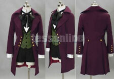 New Black Butler II 2 Alois Trancy Cosplay Costume Anime Garment Clothes Purple