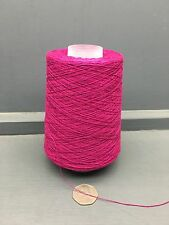 200G 2/30NM 100% SILK YARN CERISE PINK