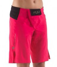 Ryu Womans Onna Fight Shorts Mma Pink Black Xs New