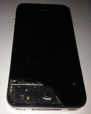 Apple iPhone 4 A1332 Smartphone Cracked Screen, Password Locked & No Home Button