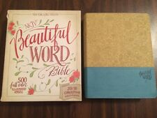 NKJV Beautiful Word Bible -$49.99 Retail -Duotone (Journaling Note Wide Margin)