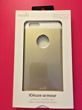 Moshi iGlaze Armour Metallic Case For iPhone 6 Plus/6s Plus - Gold / White - NEW
