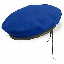 Military Blue Beret of IDF Military Police Corps Israel Army Hat Soldier Cap