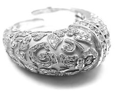 New! Authentic Carrera Y Carrera Ara 18k White Gold Fang Diamond Ring