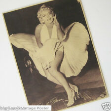 Marilyn Monroe Sexy Movie Stars Vintage Kraft Paper Poster Bar Room Decorate