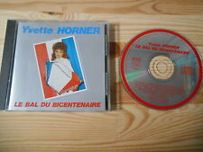 CD Pop Yvette Horner - Le Bal Duz Bicentenaire (12 Song) KOTCH PROUCTIONS