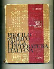 Ermanno Circeo # PROFILO STORICO DELLA LETTERATURA ITALIANA # S.Lattes & C. 1971