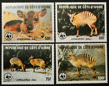 Timbre COTE D'IVOIRE / IVORY COAST Stamp - Yvert & Tellier n°733 à 736 n**(COT1)