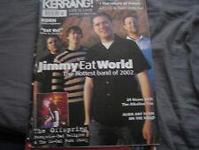 Kerrang! 887 (Jan 19 2002) Jimmy Eat World, Korn, Alkaline Trio, Alien Ant Farm