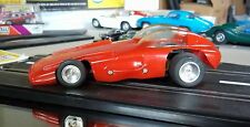 "GAR VIC VINTAGE 1/24 1/25 ""FIREBIRD"" RED SLOT CAR W/LN RUNNING CHASSIS COX AMT"