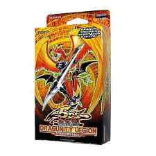 YU-GI-OH CARDS: DRAGUNITY LEGION STRUCTURE DECK - BRAND NEW AND SEALED
