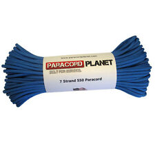 Colonial Blue 550 Paracord Mil Spec Type III 7 Strand Parachute Cord 100 ft Hank