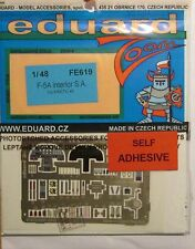 Eduard 1/48 FE619 Colour Zoom etch for the Kinetic F-5A Tiger