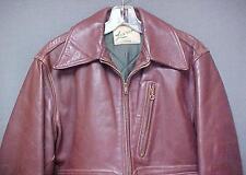 Vintage Lawrence Horsehide Front Quarter Leather Jacket Men's Size 40 (Genuine)
