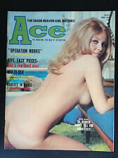 Rare Revue Ace magazine Adult  1971 NU Erotisme ETAT NEUF
