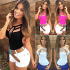 Sexy Womens Summer Vest Top Sleeveless Blouse Casual Tank Tops T Shirt