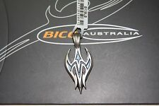 BICO Australia's FLYWING (B139) silver plated pendant with light blue accent