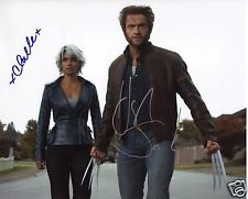 X-MEN - HUGH JACKMAN & HALLE BERRY AUTOGRAPH SIGNED PP PHOTO POSTER