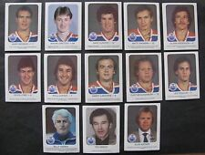 RED ROOSTER EDMONTON OILERS HOCKEY CARDS 1981-82 / LOT OF 13 (INCLUDING GRETZKY)