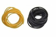 "Latex Rubber Tubing Shore A35 Black 7/8"" ODx 5/8"" ID x 1/8"" Wall x 10' Length"