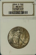 1946-D NGC MS65 Walking Liberty Half Dollar!! #B4143