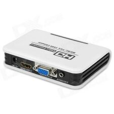 HD 1080P PC Laptop VGA +3.5mm Audio Analog To HDMI HDTV Video Converter Adapter