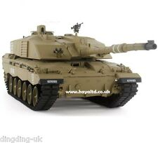 Heng Long Radio Remote Controlled RC  Tank Challenger 2 1/16 -- Special Offer !