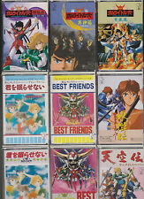 5 SAMURAI TROOPER YOROIDEN  O.S.T. MC X 9 ANIME AUDIO MUSIC CASSETTE TAPE