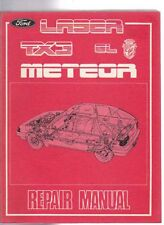 1985 on FORD KC LASER GHIA TX3 & GC METEOR Australian Factory Shop Manual