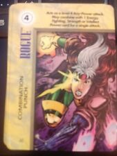 Marvel Overpower IQ Rogue Combination Punch NrMint-Mint Card