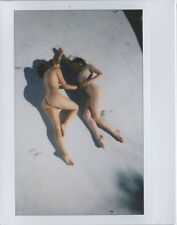 OOAK Original Instax Wide Polaroid Photo - Nude Women Redhead Brunette Outdoor