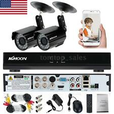 4CH 960H HDMI CCTV DVR Outdoor 800TVL Camera Video Recorder Security System O7Q8