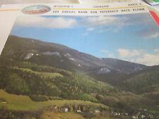 Alpenbahnen Ostalpen 1 K 2 Südbahn Payerbach nach Klamm Österreich