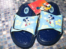DISNEY STORE MICKEY MOUSE SURFBOARD SANDALS AGE 3/4 BRAND NEW!!