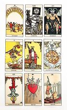 Tarot Rider Waite The Rider Tarot Deck English Instruction New Sealed Cards