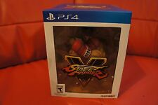 NEW! Street Fighter 5 V - Collector's Edition PS4