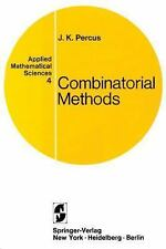 Combinatorial Methods. (Applied Mathematical Sciences)-ExLibrary