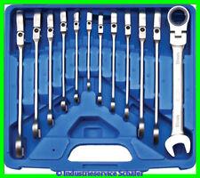 Werkzeug Ratschenring Maulschlüssel Ratschenschlüssel  Gelenk Set BGS 30950