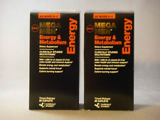 180ct GNC Mega Men Energy & Metabolism Vitamins Dietary Supplements Caplets New