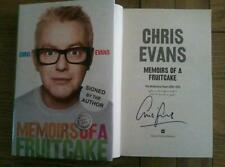 Memoirs of a Fruitcake Billie Breakfast and Beyond SIGNED Chris Evans Book HB