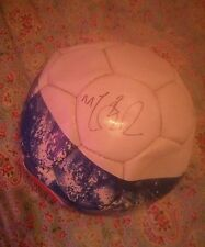 Football signed by Michael Carrick. Rare. England, Manchester United, Tottenham