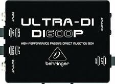 Behringer Ultra-DI / DI600P Boîtier d'injection passif *NEUF*