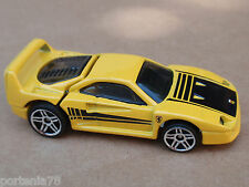 2014 Hot Wheels FERRARI F40 from 5 Pack LOOSE Yellow