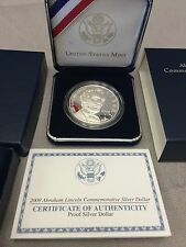 Silver Coin Proof Abraham Lincoln 2009 Commemorative