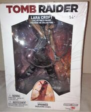 "Tomb Raider Lara Croft 9"" inches PVC Statue Figure Crystal Dynamics NEW"